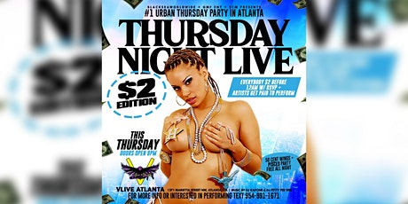Thursday Night Live @v.live.atlanta tickets