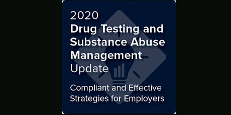 Indiana: Drug Testing and Substance Abuse Management Update (ahm) tickets