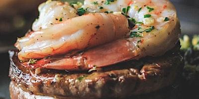 Cast Iron Filet & Shrimp Cooking Class