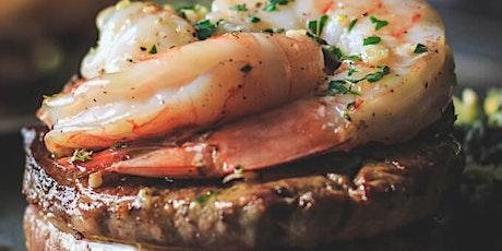 Cast Iron Filet & Shrimp Cooking Class tickets