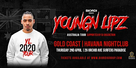 *POSTPONED* Youngn Lipz - Gold Coast Show 2020 (+18) tickets