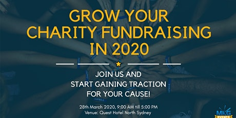 Grow Your Charity Fundraising in 2020 tickets