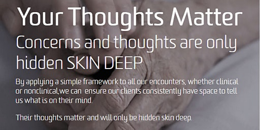 Your Thoughts Matter: SKIN DEEP Workshop (Oxley Meeting Room)