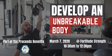 Being Unbreakable Seminar Series: How to Build an Unbreakable Body tickets