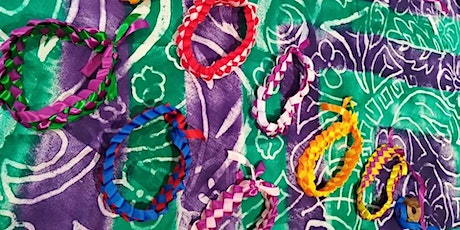 Adornments of the Pacific Craft Series- Ribbon Lei (For ages 8yrs +) tickets
