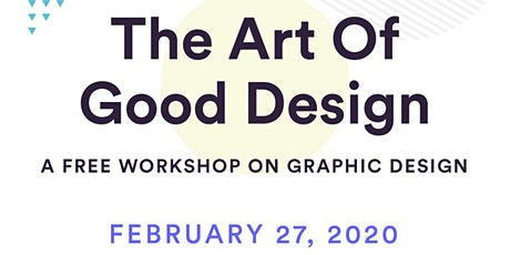 The Art of Good Design- Online Workshop tickets