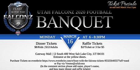 Feast with the Falconz tickets