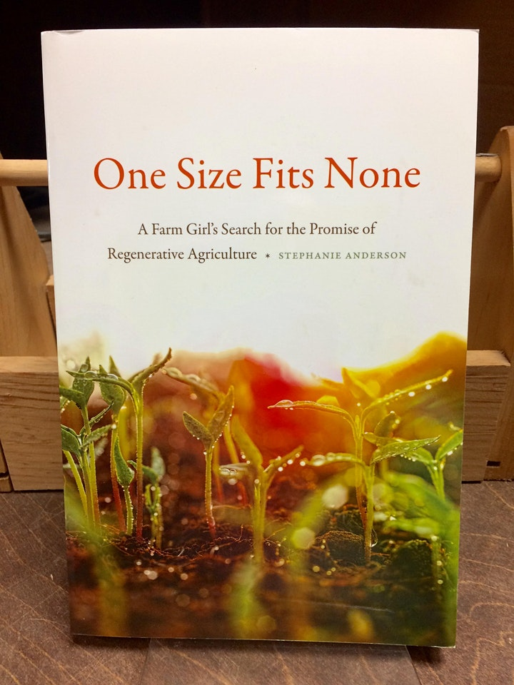 Food & Land Book Club discusses One Size Fits None image