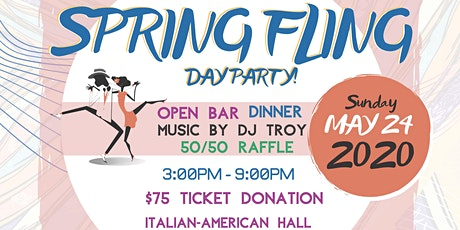 BACONJ's 2020 Spring Fling Day Party tickets