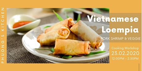 Vietnamese Cooking Workshop | Loempia | Pork & Shrimp & Veggie tickets
