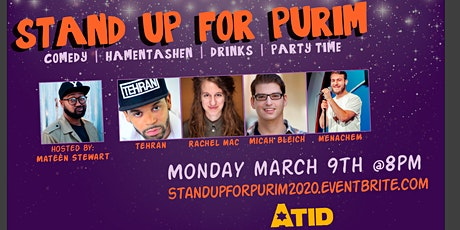 Stand Up for Purim! tickets