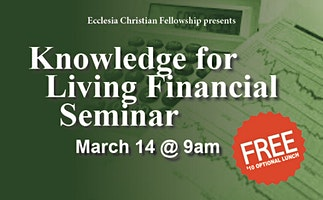 Knowledge For Living Financial Seminar