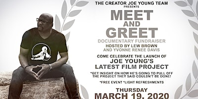 CREATOR JOE YOUNG MEET AND GREET /DOCUMENTARY FUNDRAISER