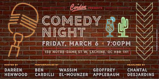 Le Cordon's Comedy Night