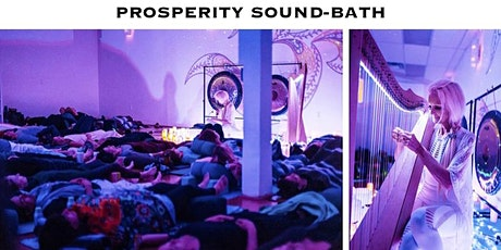 Live-Stream Prosperity Sound-Bath | Donation Based* tickets