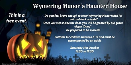 Wymering Manor's Haunted House tickets