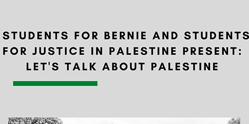 Let's Talk About Palestine