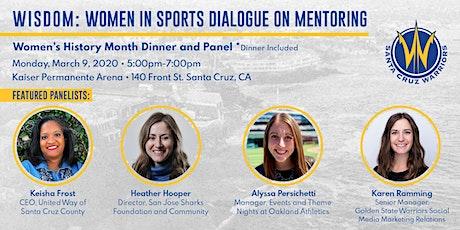 WISDOM: Women In Sports Dialogue On Mentoring tickets