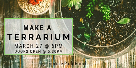 Make a Terrarium Night tickets