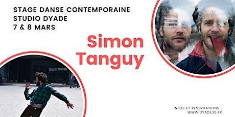 Stage de danse contemporaine avec Simon Tanguy billets