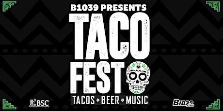 B103.9  4th Annual Taco Fest tickets