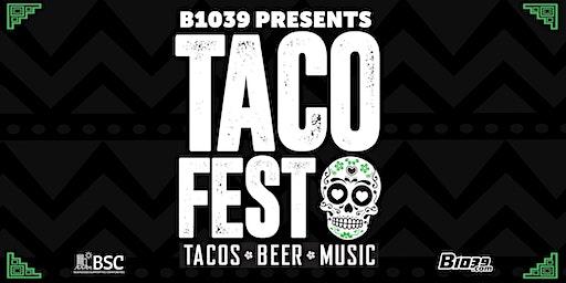 B103.9  4th Annual Taco Fest