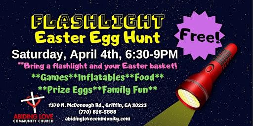 ALCC's Flashlight Easter Egg Hunt