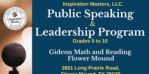 Public Speaking and Leadership Classes in Flower Mound