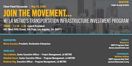 LA Metro's Transportation Infrastructure Investment Program tickets