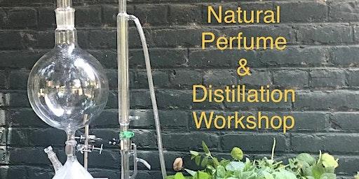 Natural Perfumery Blending and Distillation Workshop