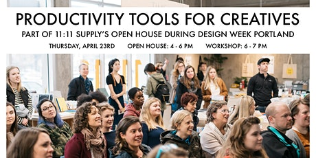 Productivity Tools for Creatives - Design Week Portland 2020 tickets