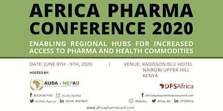 AUDA-NEPAD AFRICA PHARMA CONFERENCE 2020 tickets