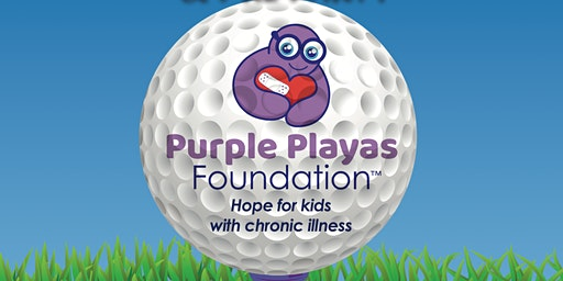 Purple Playas Helicopter Golf Ball Drop