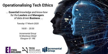 Operationalising Tech Ethics - for Board Members and Business Leaders tickets