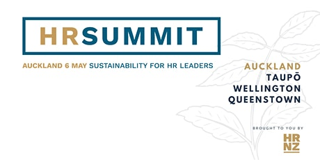 HR Summit Auckland - HR Leadership in Sustainable Organisations tickets