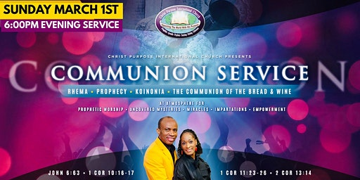 Communion† Service