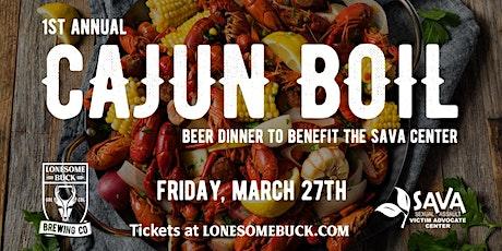 Cajun Boil Beer Dinner tickets