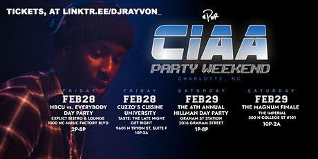 CIAA 2020: #PartyWithRayvon (TICKETS AT Linktr.ee/djrayvon_) tickets