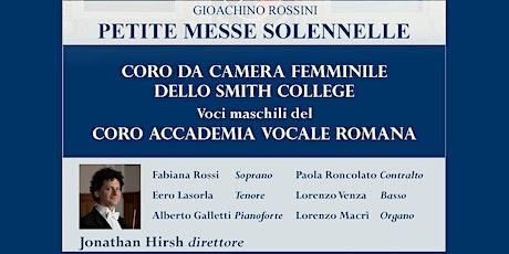 GIOACHINO ROSSINI - PETITE MESSE SOLENNELLE tickets