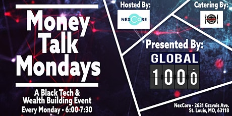 Money Talk Monday  (A Black Tech & Wealth Building Event) tickets