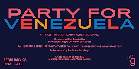 Party for Venezuela! tickets
