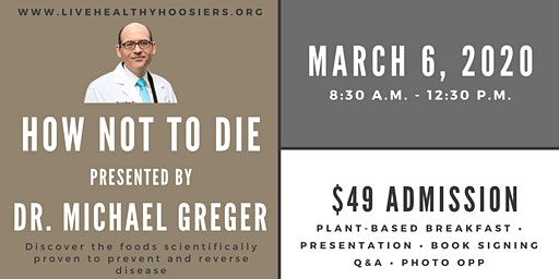 Dr. Michael Greger - How Not to Die