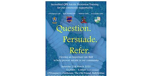 Killenard QPR Suicide Prevention Training