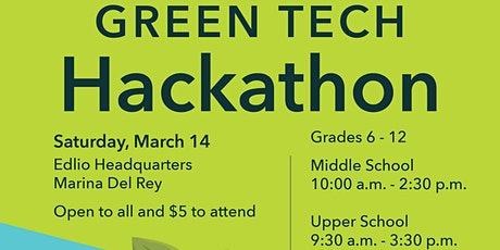 Teen Tech Hackathon 2020 tickets