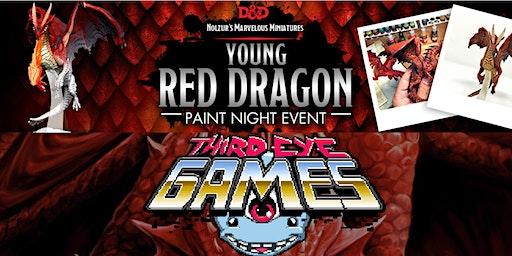 Third Eye Paint & Take: the Red Dragon