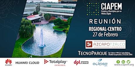 Primera Reunión Regional Centro - Azcapotzalco 2020 boletos