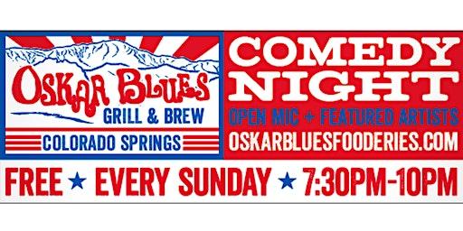 Comedy Night at Oskar Blue's
