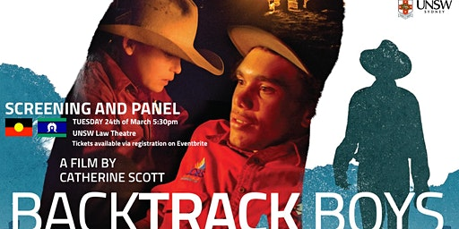 UNSW Law Presents: Backtrack Boys Screening and Panel Alternatives to the criminal justice system