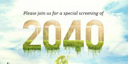 BacchChat - Community Screening of 2040