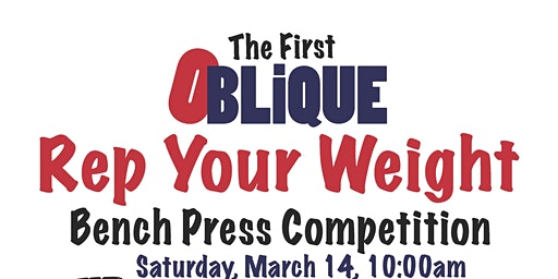 Oblique Rep Your Weight Bench Competition at Gold's Gym North Charleston